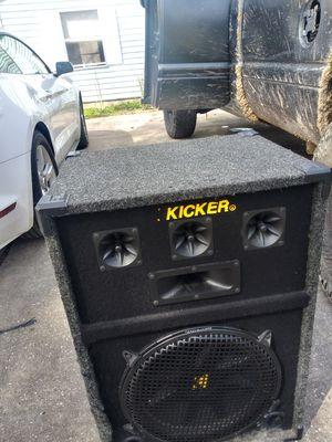 Kicker party speakers for Sale in Splendora, TX