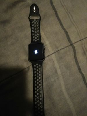 Apple watch nike ceramic back 42mm series 2 for Sale in Lincoln Acres, CA