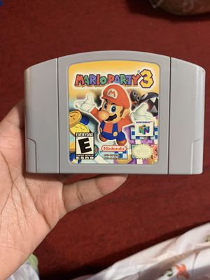 Mario Party 3 Nintendo 64 video game for Sale in Queens, NY