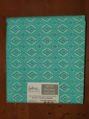 Teal fabric for Sale in Dixon, MO