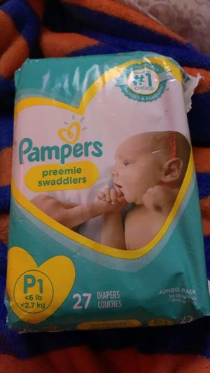 Preemie diapers for Sale in North Fort Myers, FL