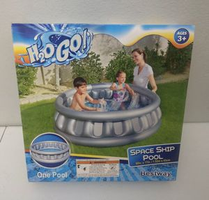 H2O GO SPACESHIP POOL 60IN X 17IN for Sale in Phoenix, AZ