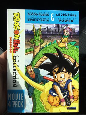 Dragon Ball Movie Pack for Sale in El Paso, TX