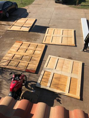 Cedar Wood Garage Doors for Sale in Austin, TX