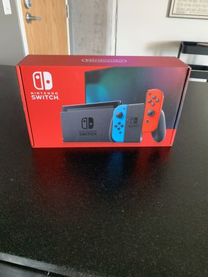 Nintendo Switch Console Red and Blue Joycon for Sale in Tempe, AZ
