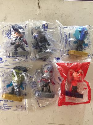 Avengers Happy Meal Toys for Sale in Los Angeles, CA