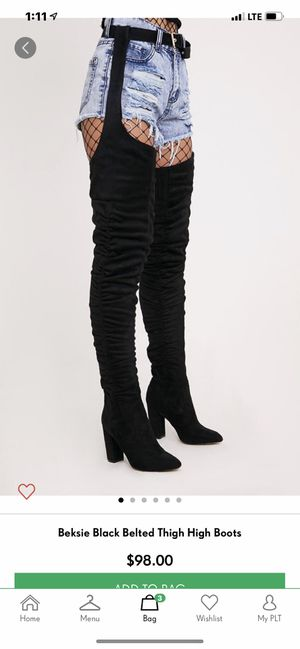 Belted thigh high boots brand new for Sale in Queens, NY
