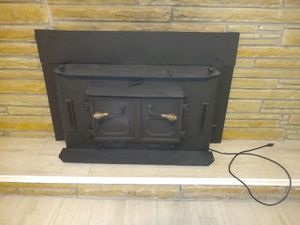 Fireplace insert. Delivery available to your driveway. It is heavy. for Sale in Chesapeake, VA