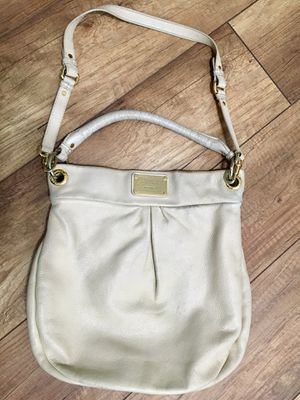 Marc Jacobs hobo bag/purse natural/cream leather for Sale in San Diego, CA