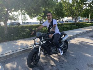 Ducati monster motorcycle 696 Yamaha Harley triumph for Sale in Miami Beach, FL