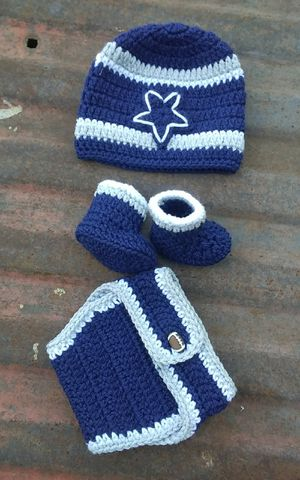 Handmade inspired by Dallas cowboys outfit. for Sale in Fort Worth, TX