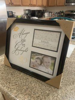 Large Black Frame Wedding Couples Picture Frame for Sale in Las Vegas,  NV