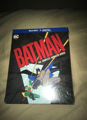 New batman animated blu ray 12 disc set for Sale in Tucson, AZ