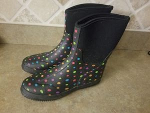 Rain boots size 8 for Sale in North Port, FL