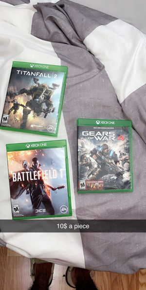 Xbox 1 games for Sale in San Angelo, TX