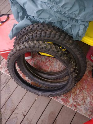 """Dirt bike tires 2...19"""" rears 3...21"""" fronts for Sale in Vancouver, WA"""