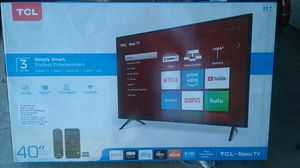 "TCL 40"" Smart LED Roku TV for Sale in Corona, CA"