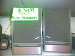 Pair of Bose speakers for Sale in Tampa, FL