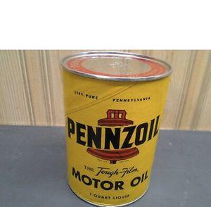 Vintage Pennzoil Motor Oil 1 Quart Can for Sale in Pico Rivera, CA