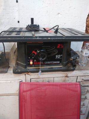 Craftsman 10 inch Table Saw for Sale in Columbus, OH