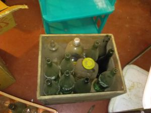 Old bottles $50 for all crates not included for Sale in Hammonton, NJ
