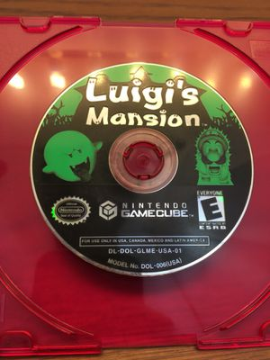 Nintendo GameCube Luigi's Mansion Disc Only Tested for Sale in Elgin, IL