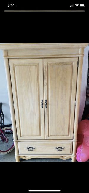 Armoire/ dresser/ tv console for Sale in Bonita Springs, FL