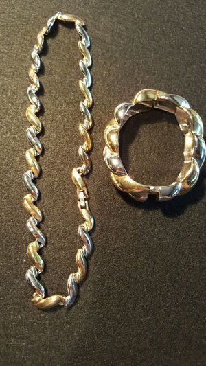 Matching vintage bracelet and necklace for Sale in Houston, TX