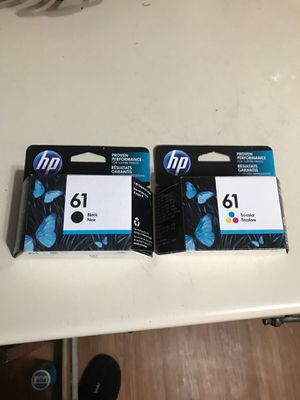 Ink for printer black and color for Sale in Grand Prairie, TX