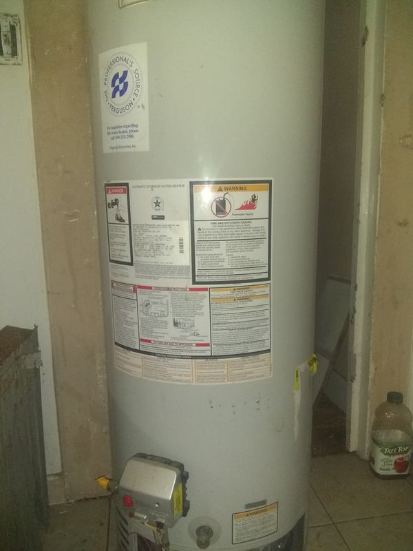 """The Professional's Source Ferguson"" Water Heater - Brand New"