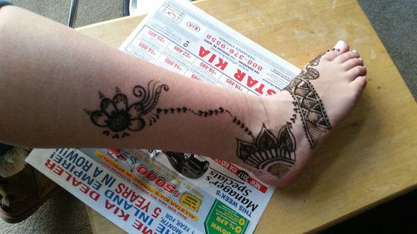 Henna for Legs