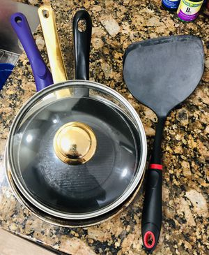 cooking pans / spatula for Sale in Aurora, CO