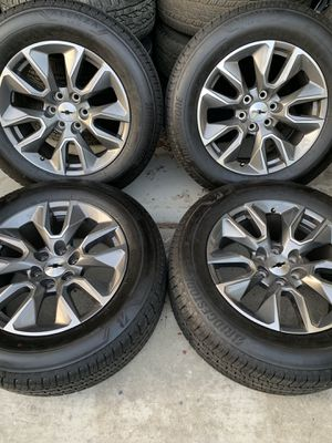 2019 chevy silverado wheels for Sale in Colton, CA