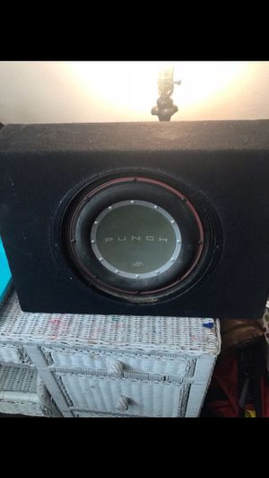 """10"""" punch sub works great for Sale in Norco, CA"""