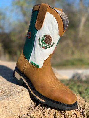STEEL TOE WORK BOOTS for Sale in San Antonio, TX