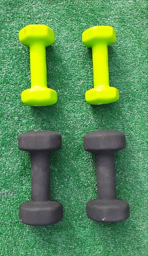 30lbs Cloth Covered Dumbell Weights 2x10lbs 2x5lbs *Excellent Condition* for Sale in Hollywood, FL