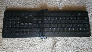 Dell computer keyboard USB black for Sale in Las Vegas, NV