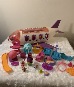 Littlest Pet Shop Jet Airplane (410/Evers) ((Please Read All Info)) for Sale in San Antonio, TX