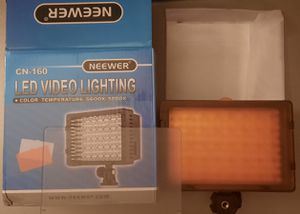 Neewer Camera Light for Sale in Greenwood, IN