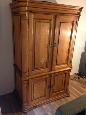 Solid wood armoire, hand made for Sale in Los Angeles, CA