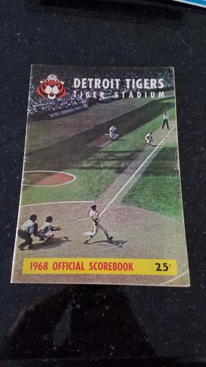 Detroit Tigers yearbook for Sale in Grosse Pointe, MI