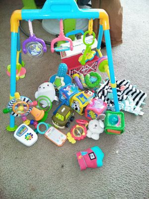 Box of baby toys for Sale in Greensboro, NC