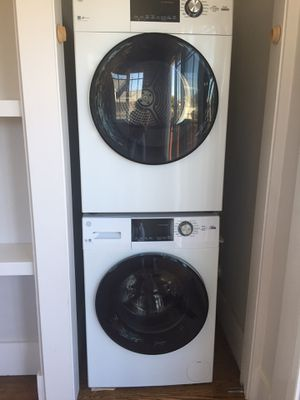 GE Washer/Dryer, Compact stackable, 2019 for Sale in Albany, CA