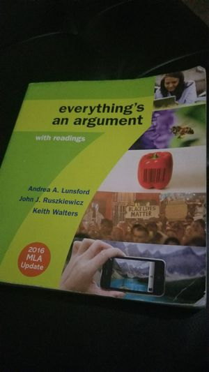 Everything's an argument textbook for Sale in Phoenix, AZ