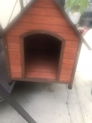 Selling this wooden dog house for 200 who it's interested respond back to me ASAP for Sale in Bronx, NY