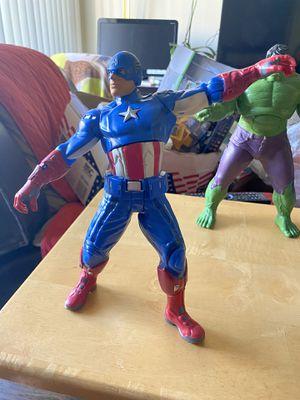 Marvel captain America & marvel hulk for Sale in El Cajon, CA
