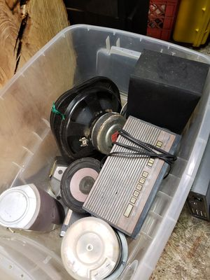 Stereo equipment lot for Sale in Columbus, OH