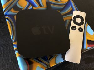 Apple TV w remote (3rd generation) - in Culver City for Sale in Los Angeles, CA