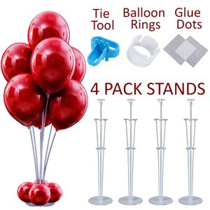 4 pcs Stable Table Balloon Stand Kit for Sale in Wauconda, IL
