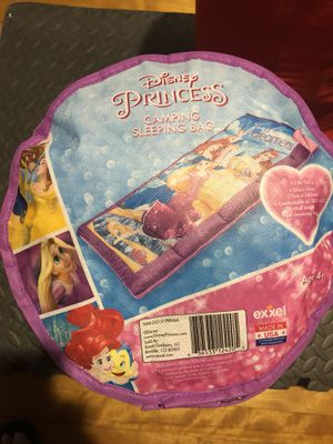 Princess camping sleeping bag for Sale in Worcester, MA